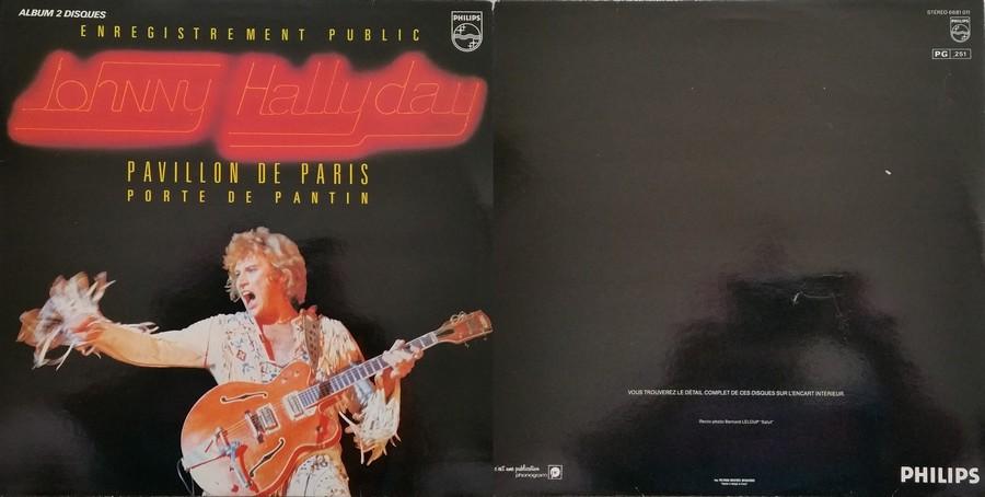 LES CONCERTS DE JOHNNY 'PAVILLON DE PARIS 1979' 00000013