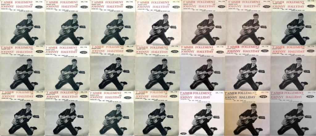 T'aimer follement ( EP 45 TOURS )( TOUTES LES EDITIONS )( 1960 - 2019 ) 0011