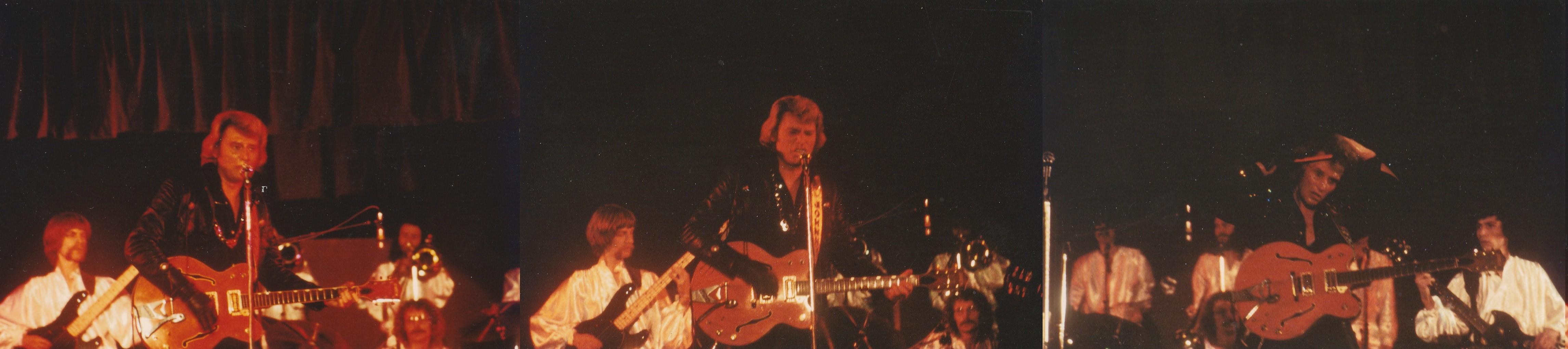 INÉDIT  :  JOHNNY HALLYDAY EN TOURNEE - HIVER 1978 -1979 ( PHOTOS INÉDITES )   0163