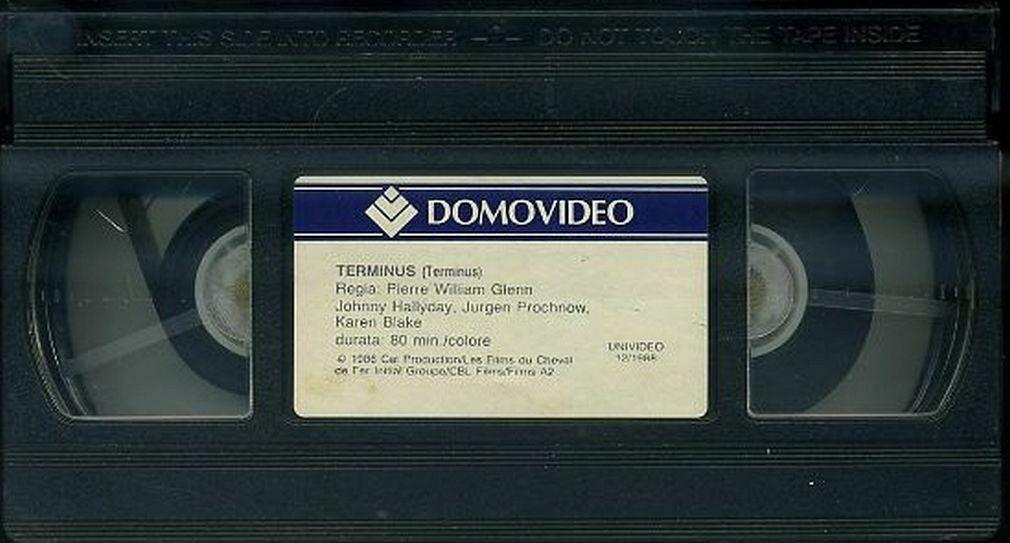 Pour la rubrique Vidéographie (VHS) du site  0245