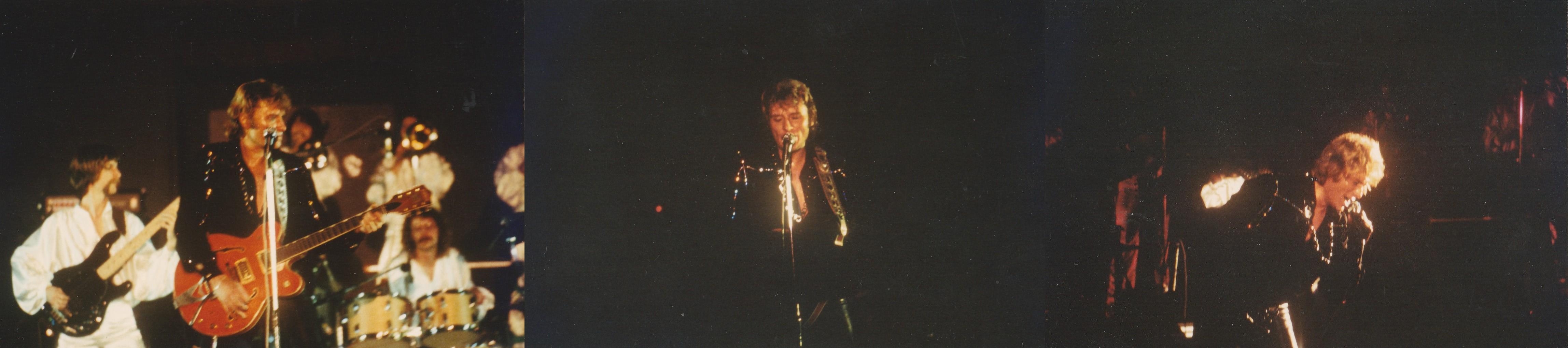 INÉDIT  :  JOHNNY HALLYDAY EN TOURNEE - HIVER 1978 -1979 ( PHOTOS INÉDITES )   0246