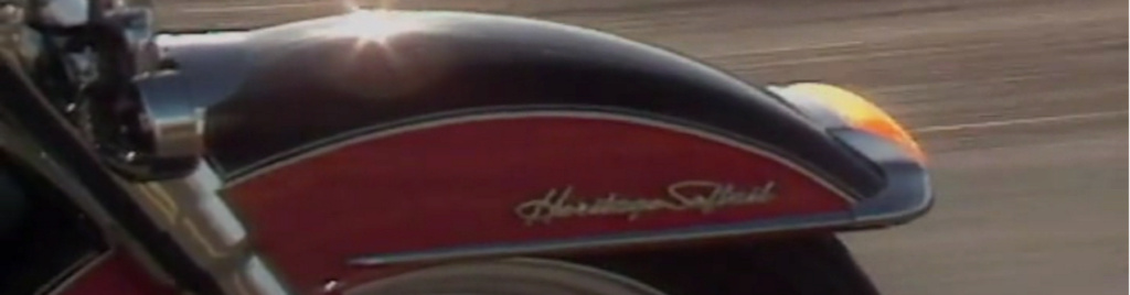 HARLEY-DAVIDSON HERITAGE SOFTAIL 1340 DE JOHNNY HALLYDAY ( 1989 ) 0310