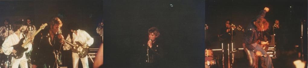 INÉDIT  :  JOHNNY HALLYDAY EN TOURNEE - HIVER 1978 -1979 ( PHOTOS INÉDITES )   0342