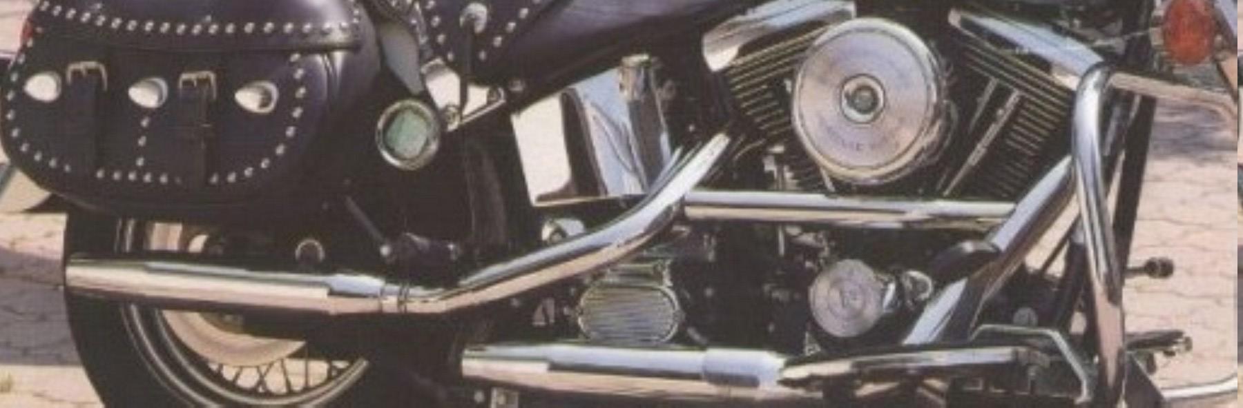 HARLEY-DAVIDSON HERITAGE SOFTAIL 1340 DE JOHNNY HALLYDAY ( 1989 ) 0413