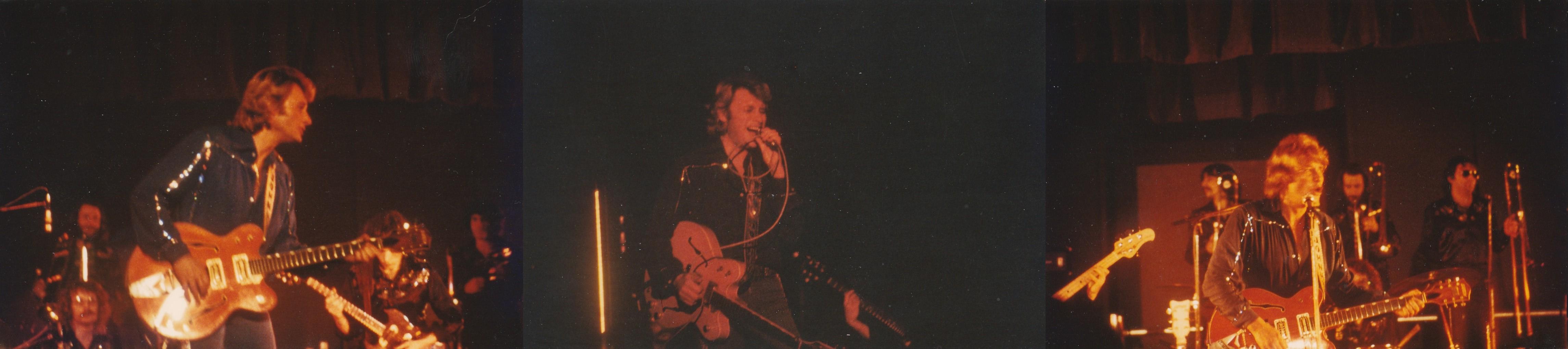 INÉDIT  :  JOHNNY HALLYDAY EN TOURNEE - HIVER 1978 -1979 ( PHOTOS INÉDITES )   0434