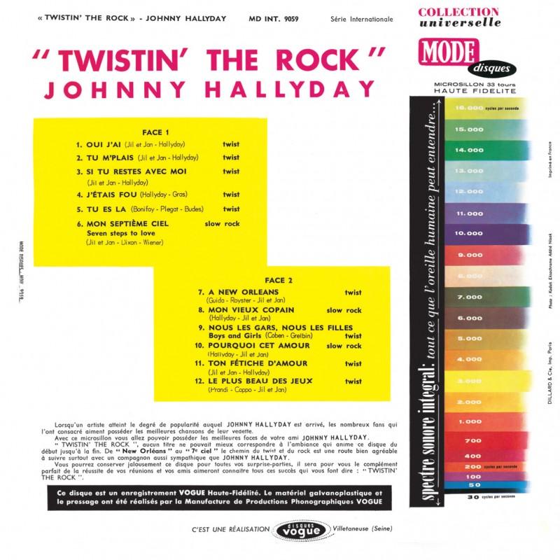 JOHNNY HALLYDAY 'TWISTIN'THE ROCK' ( 30CM )( DISQUAIRE DAY )( 12 JUIN 2021 ) 0621
