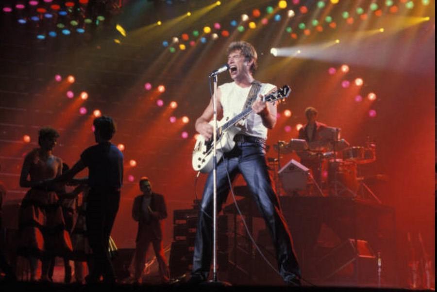 LES CONCERTS DE JOHNNY 'LE ZENITH DE PARIS 1984' 08_jan14