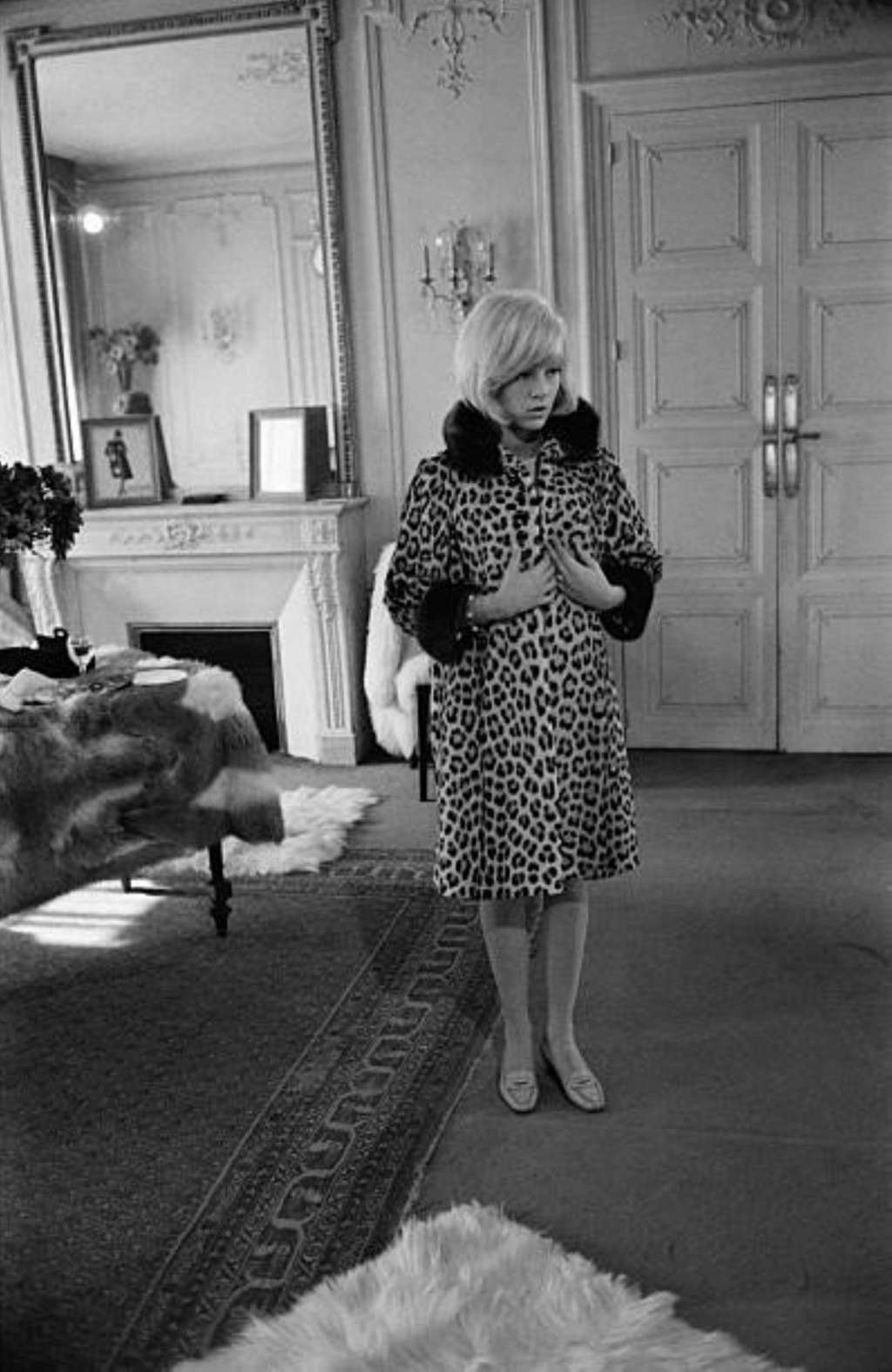 PROPRIETE OU A RESIDE JOHNNY HALLYDAY ( 3/10 ) 'NEUILLY SUR SEINE' ( 1965 ) 0918