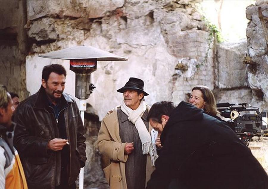 LES FILMS DE JOHNNY 'L'HOMME DU TRAIN' 2002 1-homm10