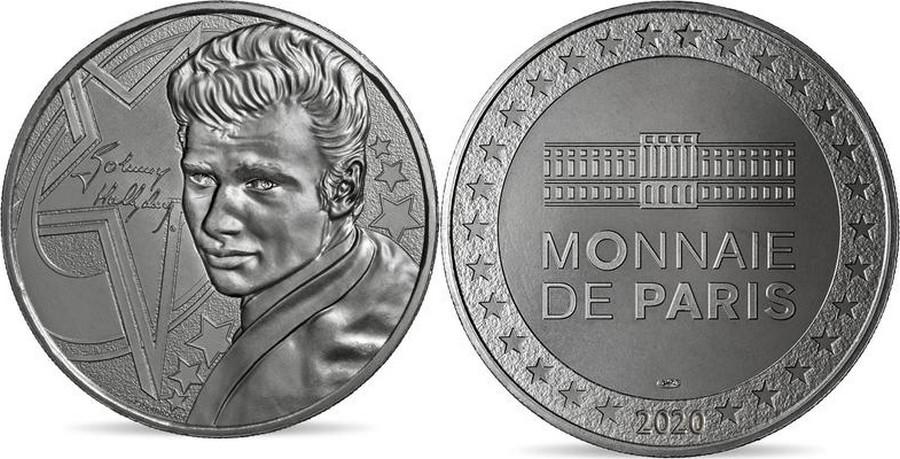 MONNAIE DE PARIS - JOHNNY HALLYDAY - 60 ANS DE SOUVENIRS ( 2020 ) 10011323