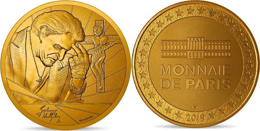 MONNAIE DE PARIS - JOHNNY HALLYDAY - 60 ANS DE SOUVENIRS ( 2020 ) 10011325