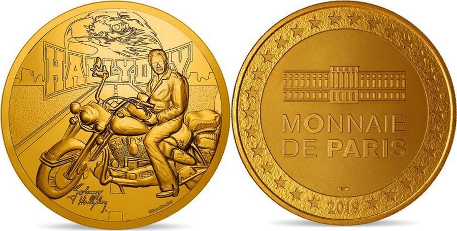 MONNAIE DE PARIS - JOHNNY HALLYDAY - 60 ANS DE SOUVENIRS ( 2020 ) 10011326