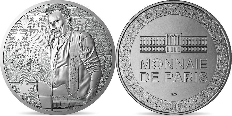 MONNAIE DE PARIS - JOHNNY HALLYDAY - 60 ANS DE SOUVENIRS ( 2020 ) 10011327