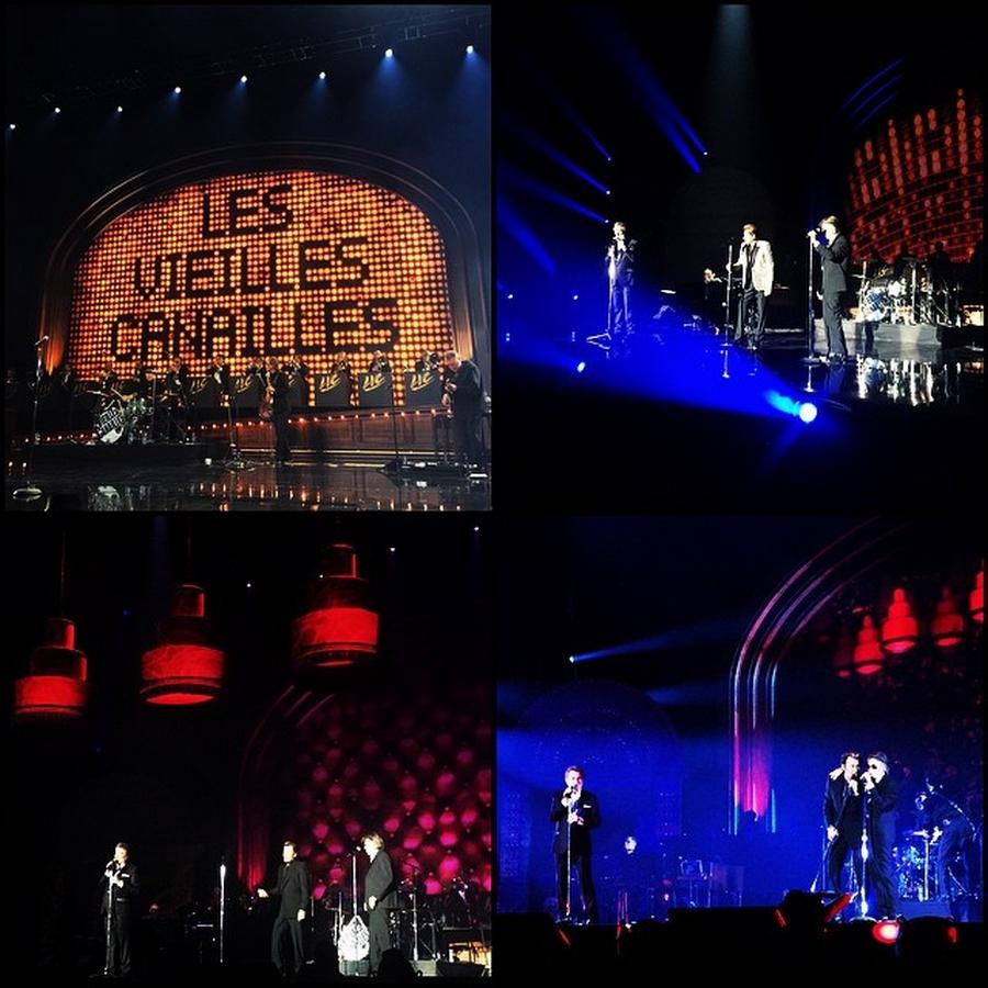 LES CONCERTS DE JOHNNY 'LES VIEILLES CANAILLES - 'PARIS 2014' 10732010