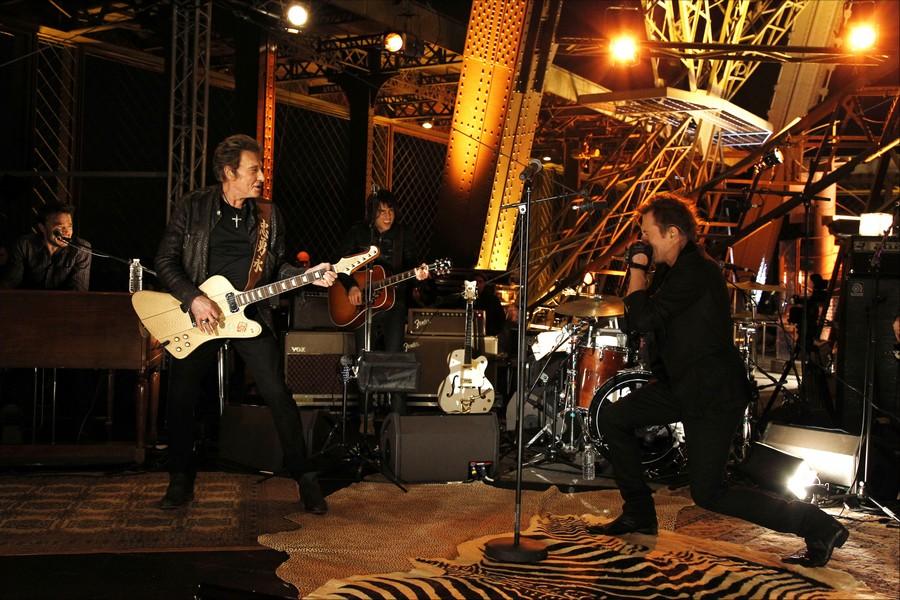 LES CONCERTS DE JOHNNY 'LA TOUR EIFFEL, PARIS 2011' 11-g0113