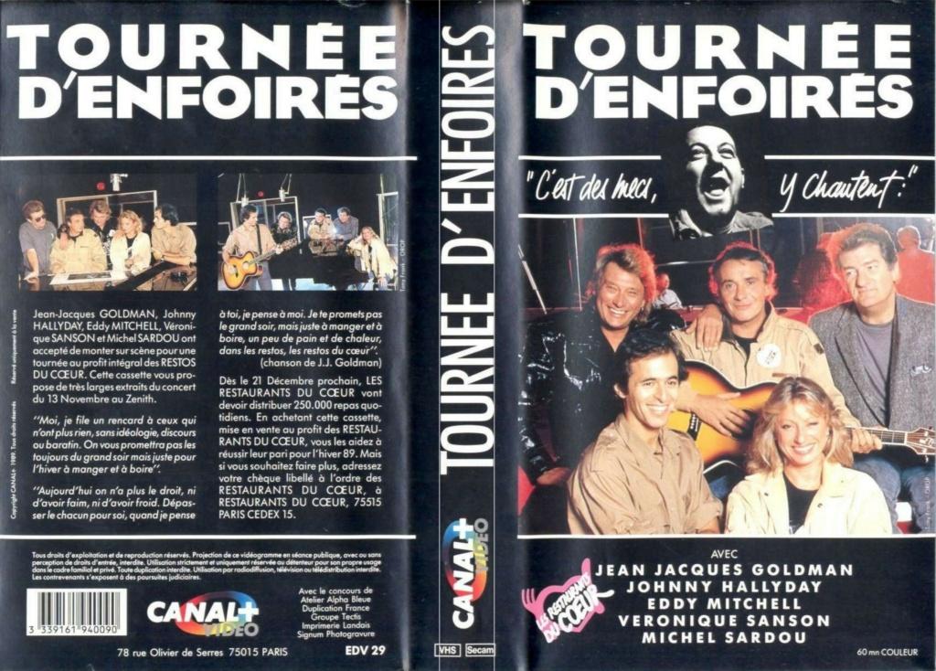 LES CONCERTS DE JOHNNY 'TOURNEE D'ENFOIRES, ZENITH 1989' 11484310