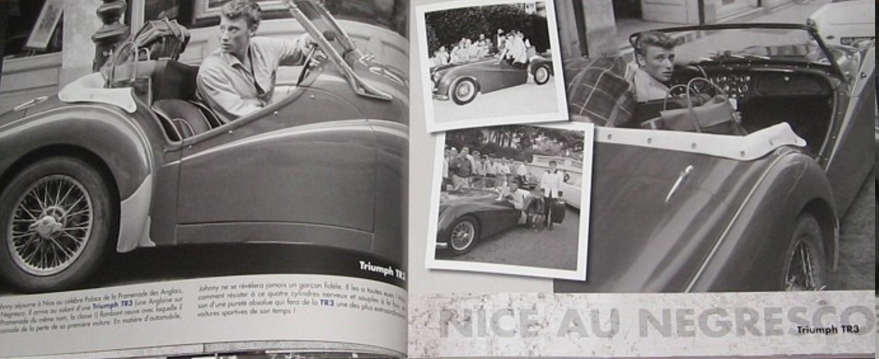 TRIUMPH TR3 DE JOHNNY HALLYDAY ( 1961 ) 12-roc10
