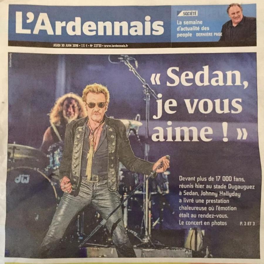 LES CONCERTS DE JOHNNY 'SEDAN 2016' 13495310
