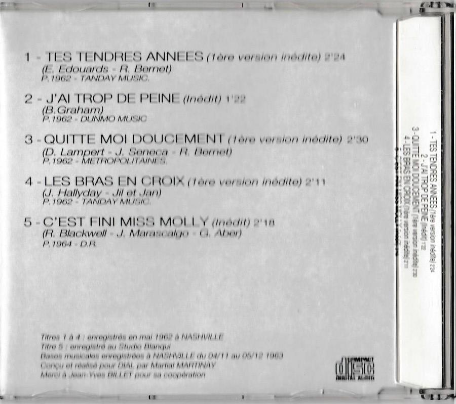 COFFRET 4 CD + TEE SHIRT + PIN'S ( CLUB DIAL ) 1410