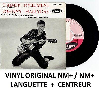 T'aimer follement ( EP 45 TOURS )( TOUTES LES EDITIONS )( 1960 - 2019 ) 14168610