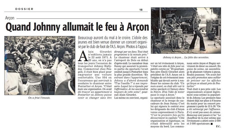 LES CONCERTS DE JOHNNY 'ARCON 1971' 16050111