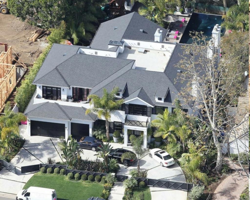PROPRIETE OU A RESIDE JOHNNY HALLYDAY ( 4/10 ) 'LOS ANGELES' ( 2010-2021 ) 17243910