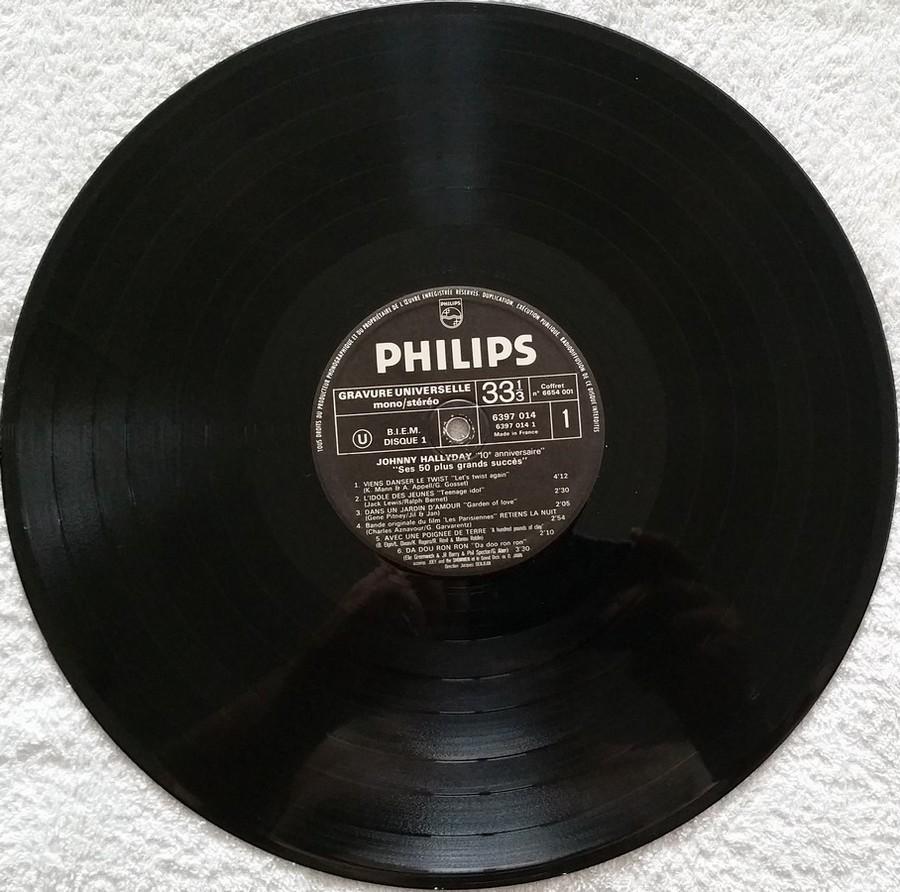 COFFRET 4 33 TOURS 'DIX ANS DE MA VIE' ( Philips )( 1970 & 1980 ) 19344310