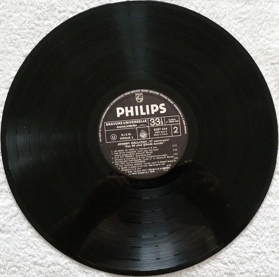 COFFRET 4 33 TOURS 'DIX ANS DE MA VIE' ( Philips )( 1970 & 1980 ) 195e6110
