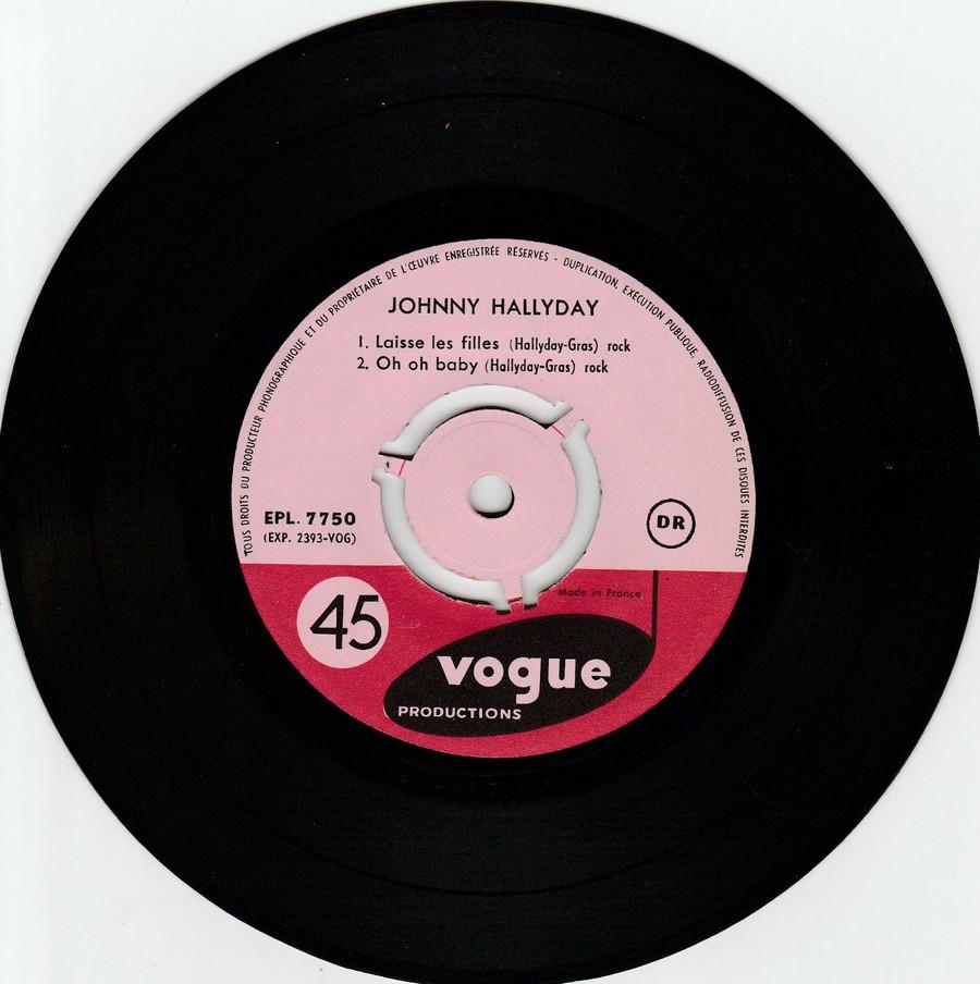 T'aimer follement ( EP 45 TOURS )( TOUTES LES EDITIONS )( 1960 - 2019 ) 1960_073
