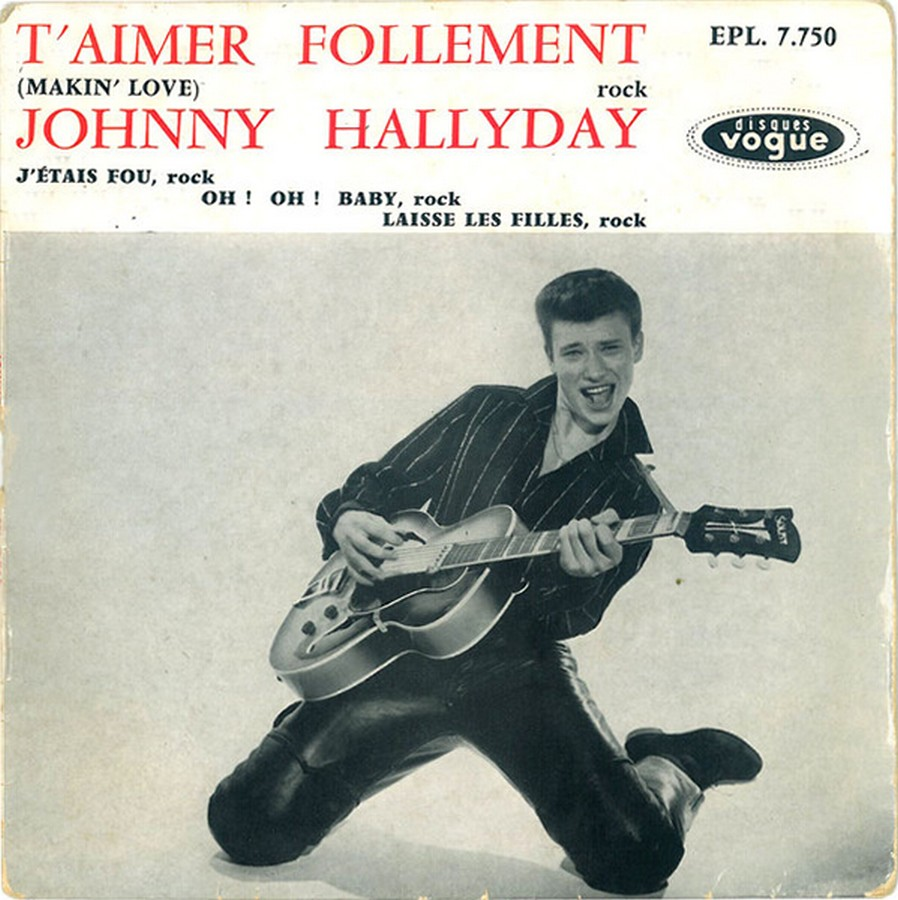 T'aimer follement ( EP 45 TOURS )( TOUTES LES EDITIONS )( 1960 - 2019 ) 1960_076