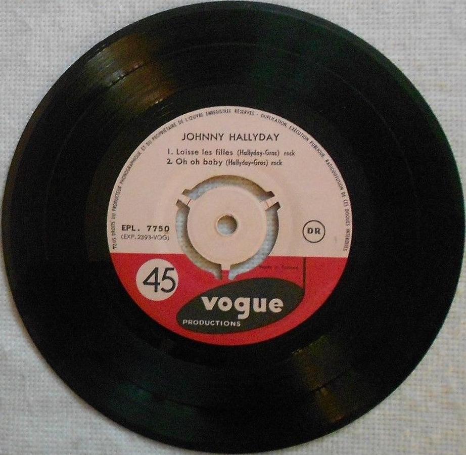 T'aimer follement ( EP 45 TOURS )( TOUTES LES EDITIONS )( 1960 - 2019 ) 1960_077