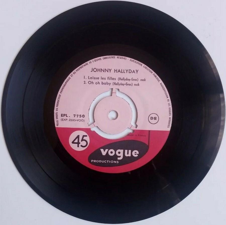 T'aimer follement ( EP 45 TOURS )( TOUTES LES EDITIONS )( 1960 - 2019 ) 1960_081