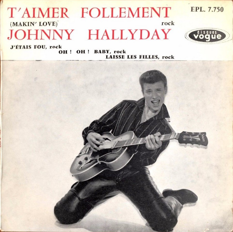 T'aimer follement ( EP 45 TOURS )( TOUTES LES EDITIONS )( 1960 - 2019 ) 1960_082