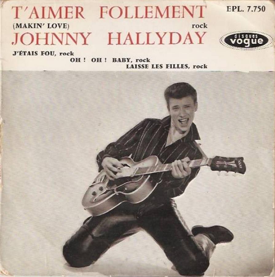 T'aimer follement ( EP 45 TOURS )( TOUTES LES EDITIONS )( 1960 - 2019 ) 1960_089