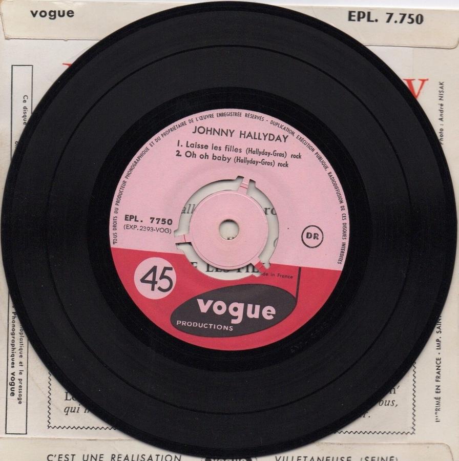T'aimer follement ( EP 45 TOURS )( TOUTES LES EDITIONS )( 1960 - 2019 ) 1960_099