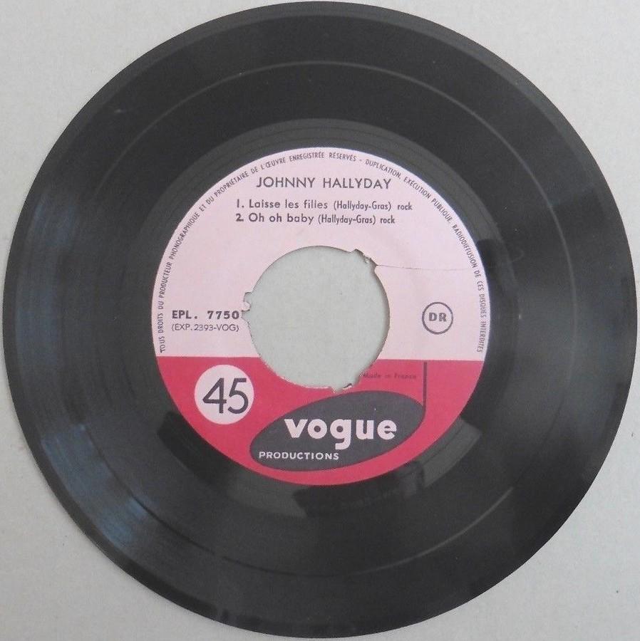 T'aimer follement ( EP 45 TOURS )( TOUTES LES EDITIONS )( 1960 - 2019 ) 1960_110