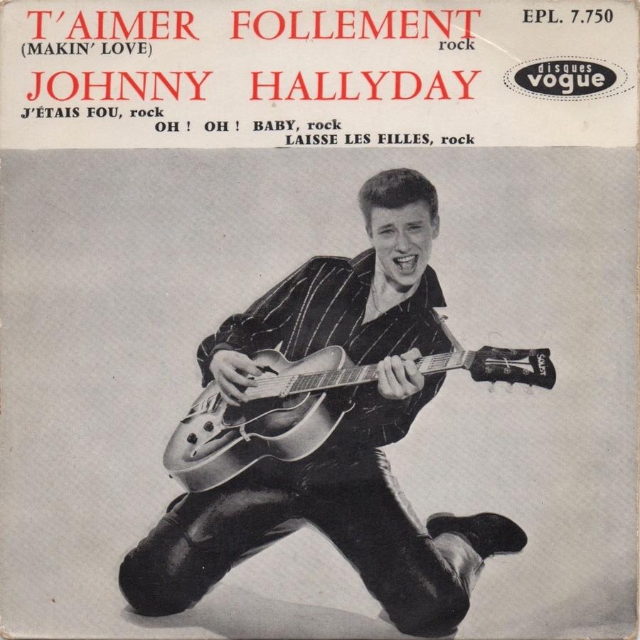T'aimer follement ( EP 45 TOURS )( TOUTES LES EDITIONS )( 1960 - 2019 ) 1960_118