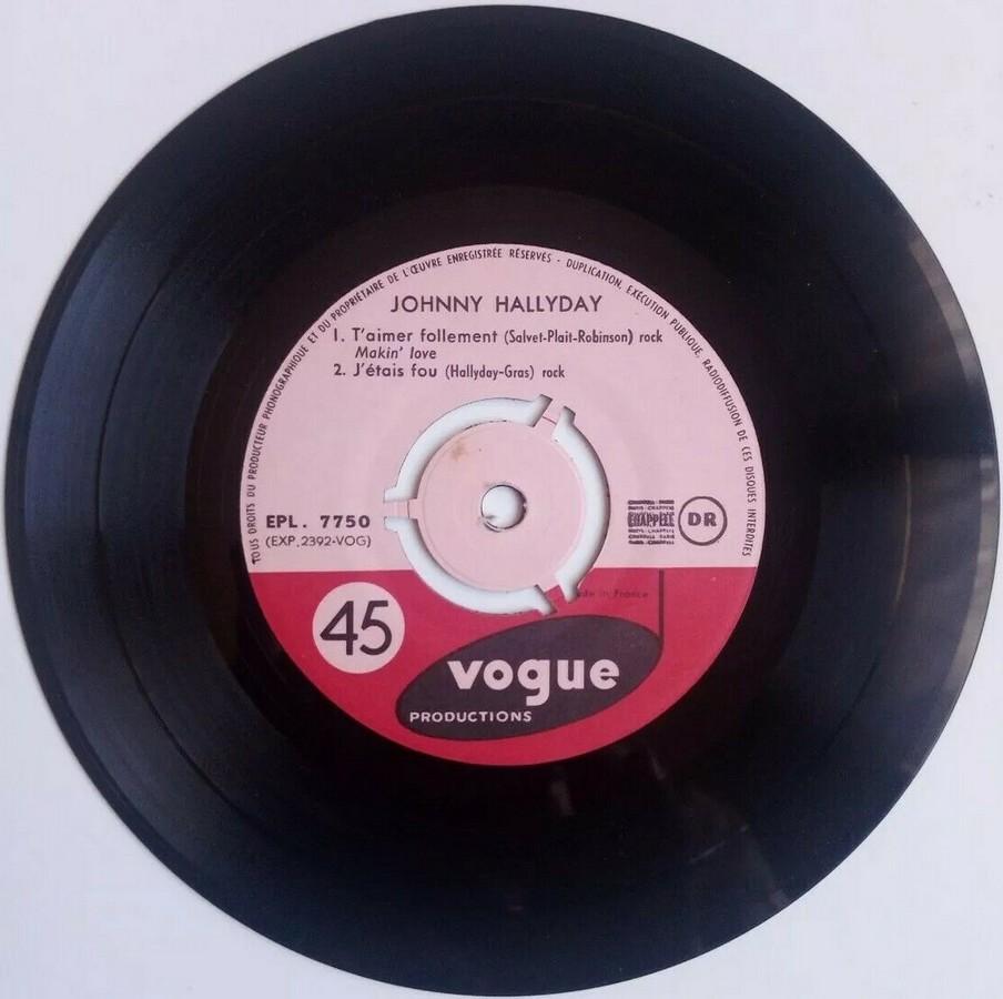 T'aimer follement ( EP 45 TOURS )( TOUTES LES EDITIONS )( 1960 - 2019 ) 1960_121