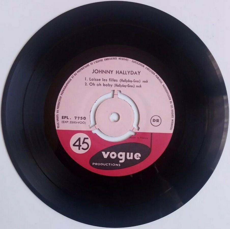 T'aimer follement ( EP 45 TOURS )( TOUTES LES EDITIONS )( 1960 - 2019 ) 1960_135