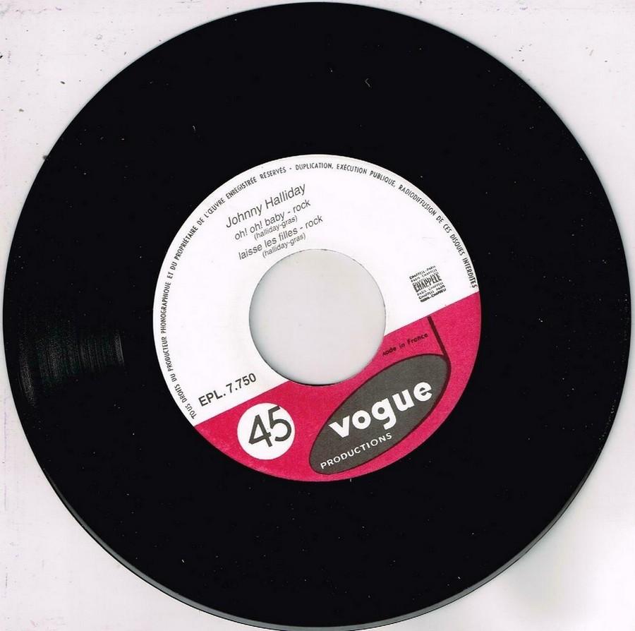 T'aimer follement ( EP 45 TOURS )( TOUTES LES EDITIONS )( 1960 - 2019 ) 1960_150