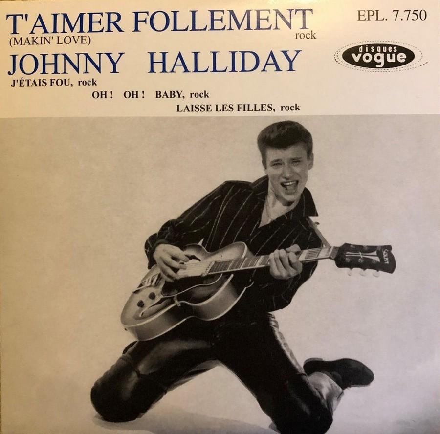 T'aimer follement ( EP 45 TOURS )( TOUTES LES EDITIONS )( 1960 - 2019 ) 1960_153