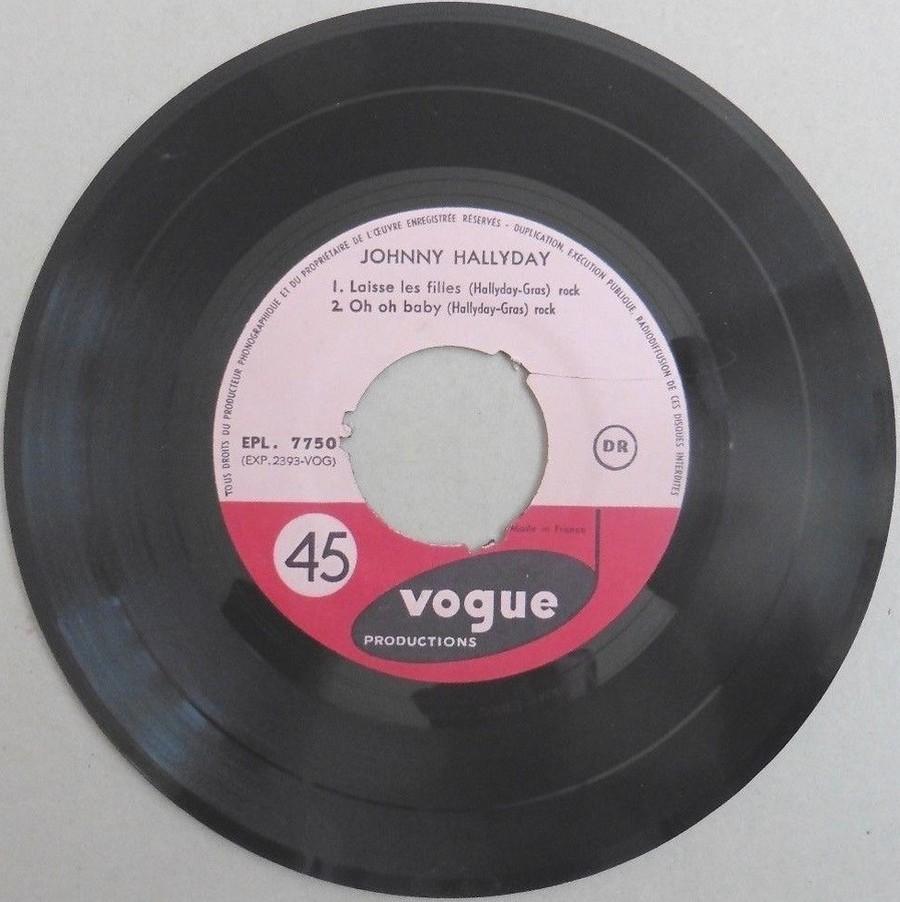 T'aimer follement ( EP 45 TOURS )( TOUTES LES EDITIONS )( 1960 - 2019 ) 1960_155