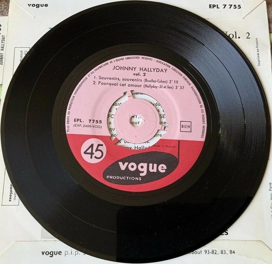 Souvenirs souvenirs ( EP 45 TOURS )( TOUTES LES EDITIONS )( 1960 - 2019 ) 1960_162