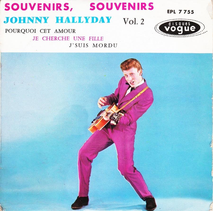 Souvenirs souvenirs ( EP 45 TOURS )( TOUTES LES EDITIONS )( 1960 - 2019 ) 1960_163