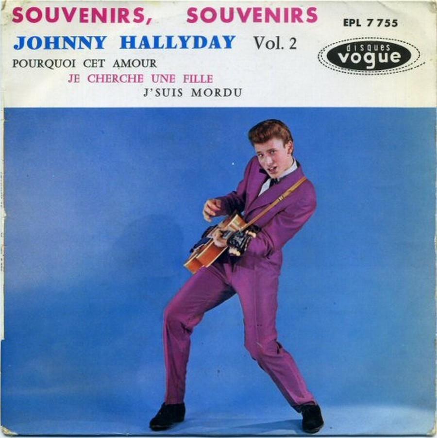 Souvenirs souvenirs ( EP 45 TOURS )( TOUTES LES EDITIONS )( 1960 - 2019 ) 1960_174