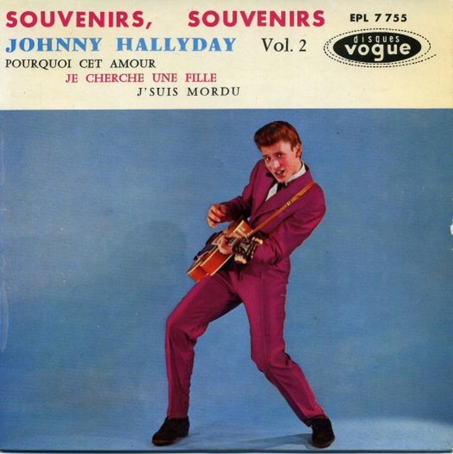 Souvenirs souvenirs ( EP 45 TOURS )( TOUTES LES EDITIONS )( 1960 - 2019 ) 1960_190