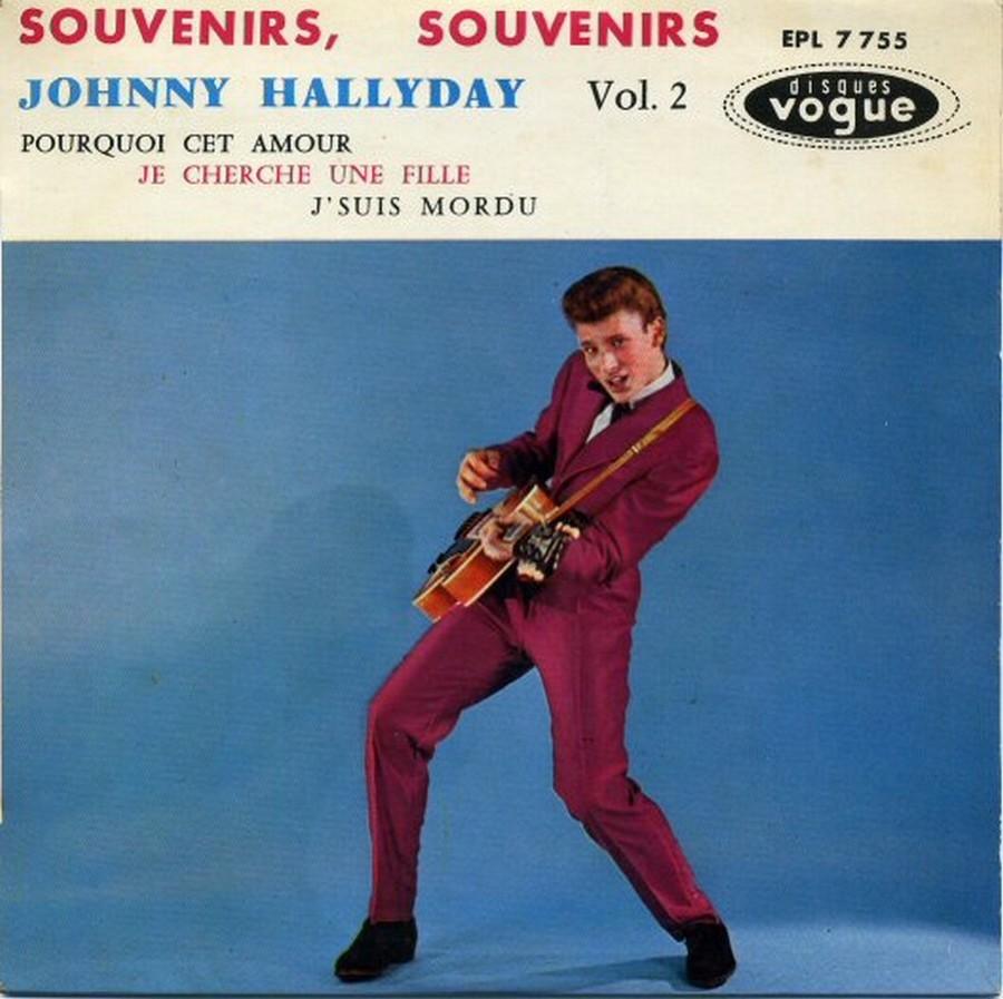 Souvenirs souvenirs ( EP 45 TOURS )( TOUTES LES EDITIONS )( 1960 - 2019 ) 1960_195