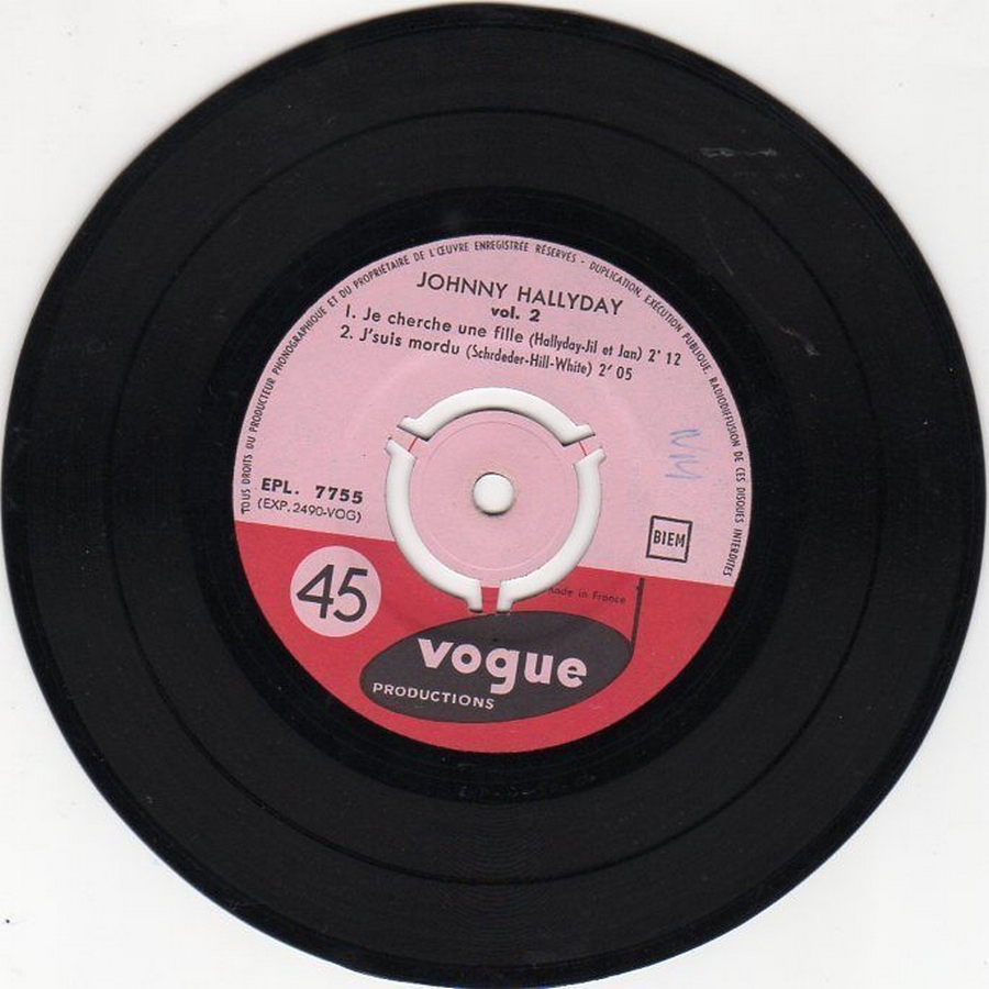 Souvenirs souvenirs ( EP 45 TOURS )( TOUTES LES EDITIONS )( 1960 - 2019 ) 1960_196