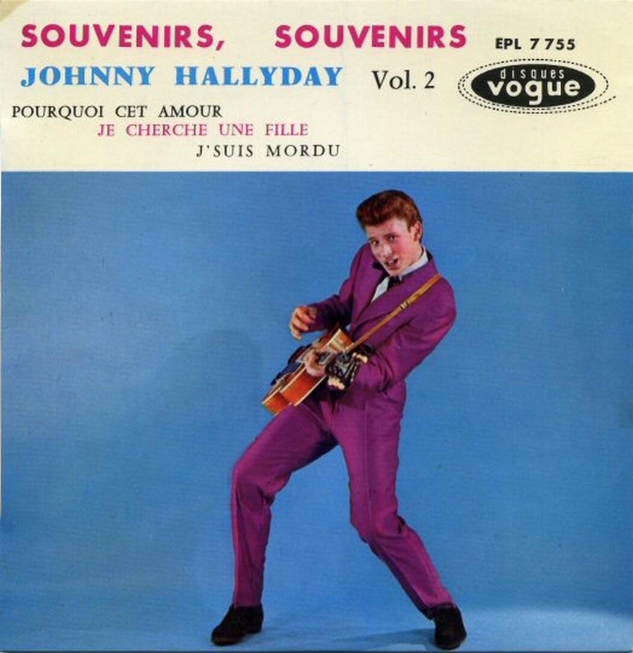 Souvenirs souvenirs ( EP 45 TOURS )( TOUTES LES EDITIONS )( 1960 - 2019 ) 1960_202