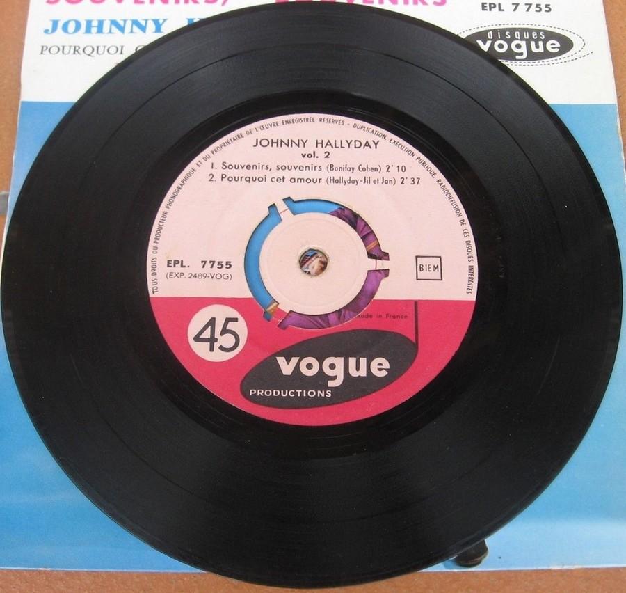 Souvenirs souvenirs ( EP 45 TOURS )( TOUTES LES EDITIONS )( 1960 - 2019 ) 1960_207